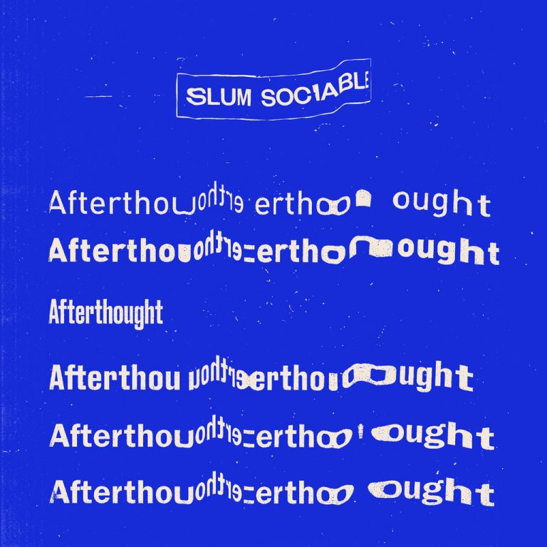 Slum Sociable Afterthought Cover