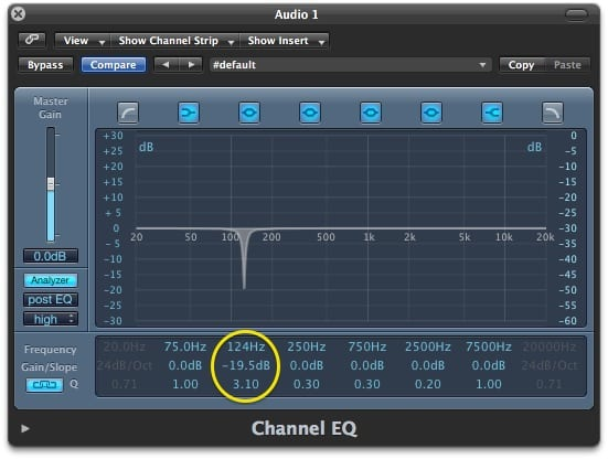 Logic Channel EQ
